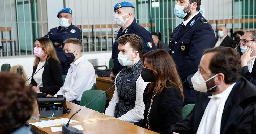 American students found guilty in Italian police officer's death