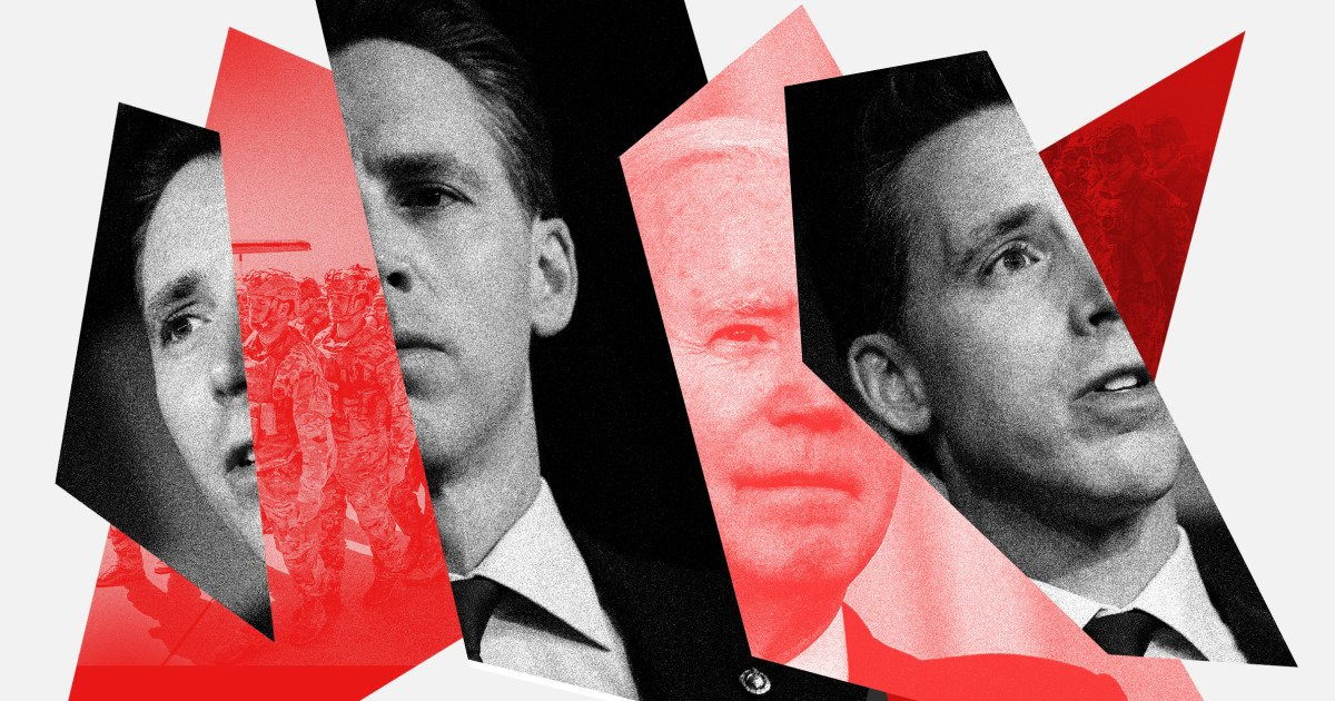 Josh Hawley is throwing a tantrum (of course) over something he enthusiastically supported