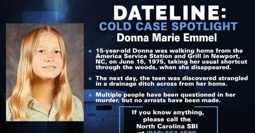 Family hopes new DNA technology can solve 1975 murder of North Carolina teen Donna Emmel
