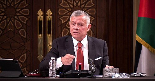 Jordan's King Abdullah says sedition quashed, country stable