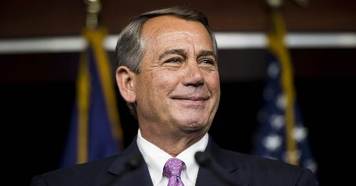 Max Burns John Boehner blames Trump and Cruz for Republican dysfunction. But he's the problem.