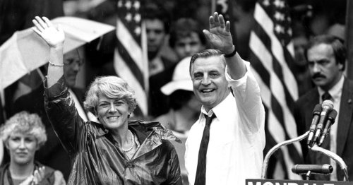 The career of Walter Mondale, Carter's vice president, in pictures