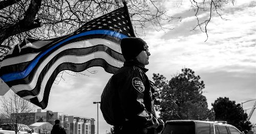 The 'Thin Blue Line' flag sanctions police violence in America
