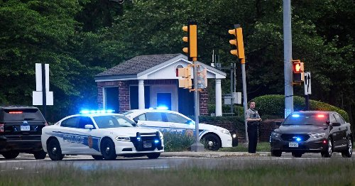 Intruder stopped, shot by FBI agents after attempting to drive through CIA main entrance