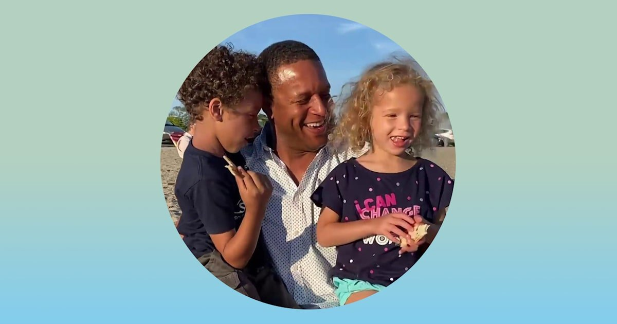 Why Craig Melvin is telling the unvarnished truth about his dad