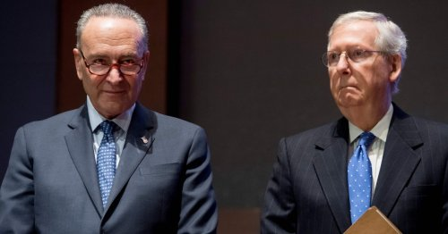 As GOP pushes nation toward default, McConnell tries gaslighting
