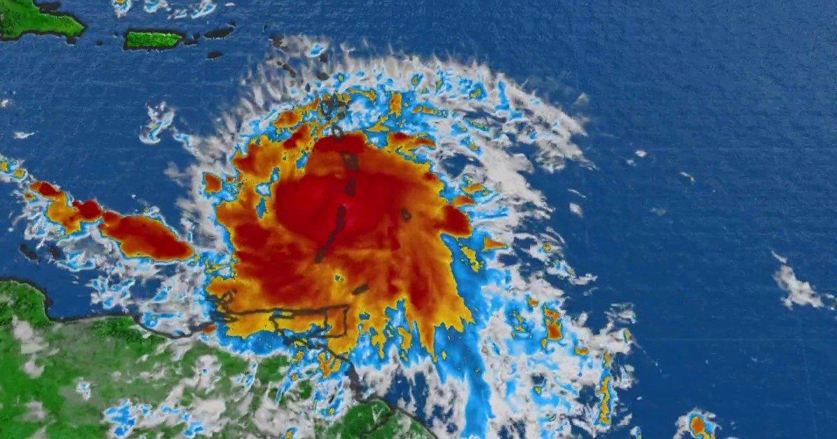 Watch live: Tracking Tropical Storm Elsa