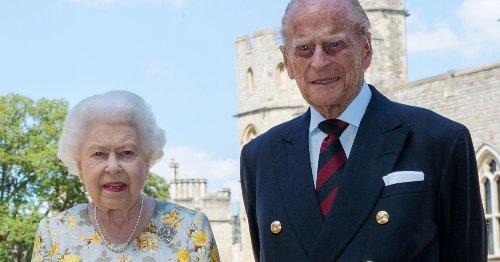 Britain's Queen Elizabeth and husband, Prince Philip, receive coronavirus vaccine