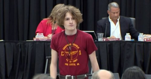 Boys, nonbinary student suspended over long hair sue school district for gender bias
