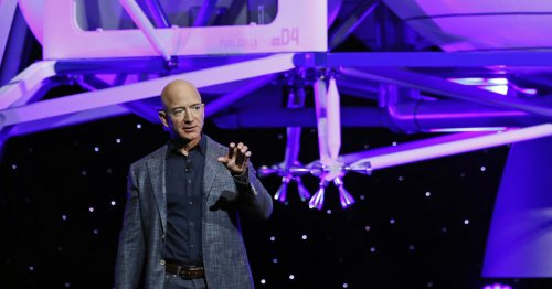 Jeff Bezos to launch himself into space for first time next month