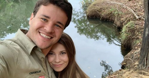 Bindi Irwin and husband share new pic of 2-month-old daughter with koala