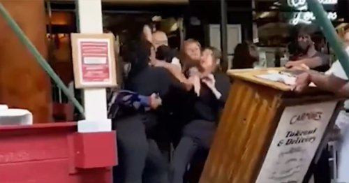 Carmine's hostess attacked after asking diners for proof of vaccination