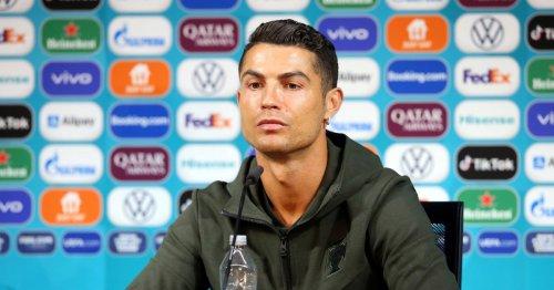 Snub from soccer star Cristiano Ronaldo wipes $4 billion off Coca-Cola's market value