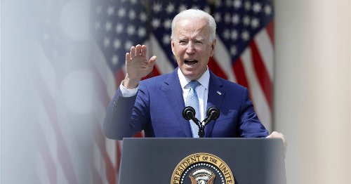 'It is time to end America's longest war': Biden announces full withdrawal of troops from Afghanistan