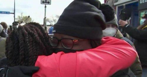 Relief in Minneapolis crowd after Derek Chauvin found guilty