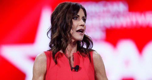 The GOP's culture-war fixation on transgender athletes ensnares rising star Kristi Noem