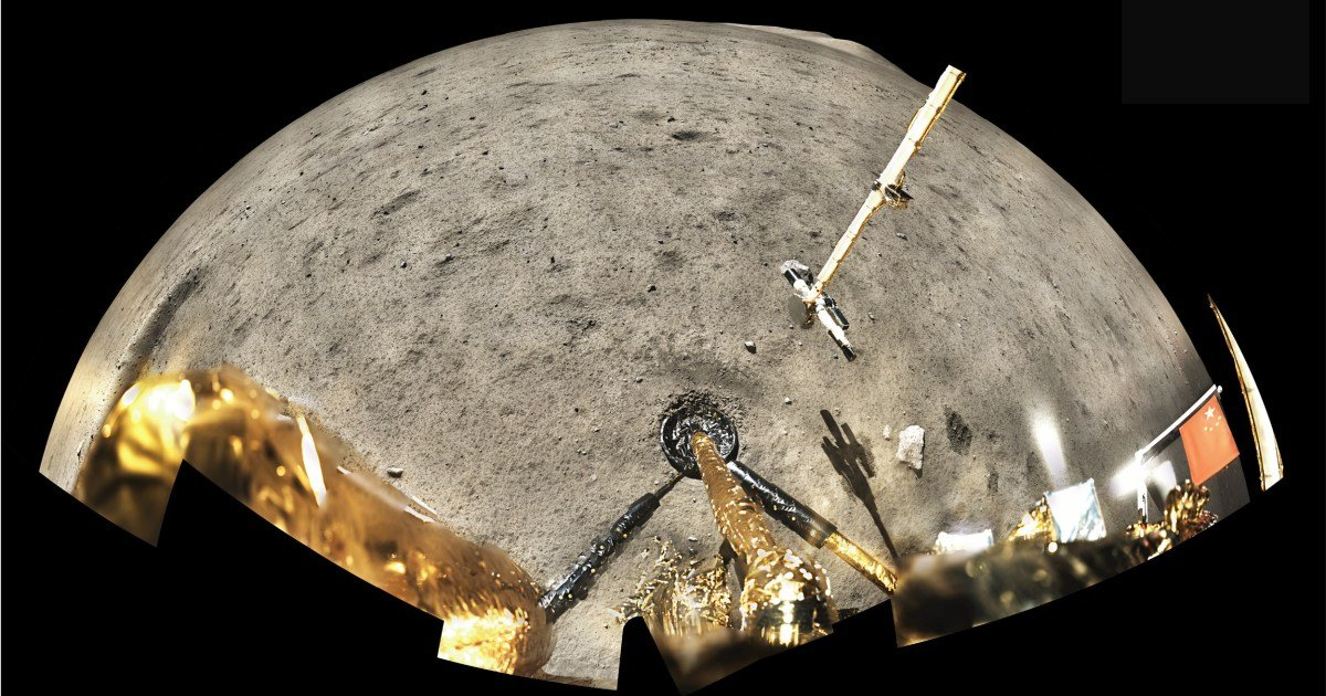 Lunar rocks from Chinese probe offer glimpse of moon's volcanic history
