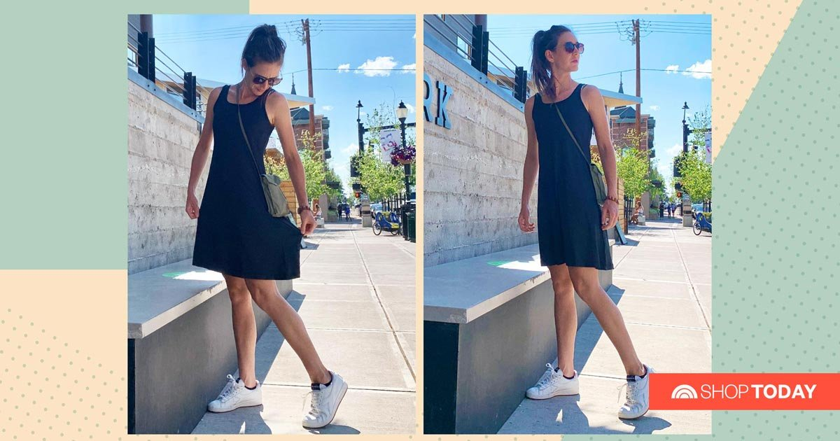 This breathable and lightweight 'freezer dress' helps me beat the heat