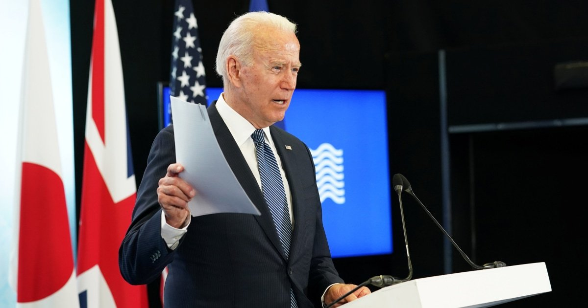 Biden agrees U.S.-Russian relations are at a 'low point' ahead of meeting with Putin