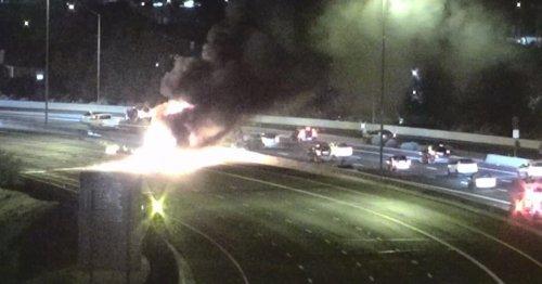 Speeding milk tanker caused crash that killed 4 in Arizona, officials said