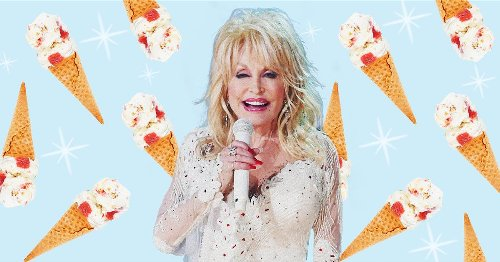 Dolly Parton's new ice cream flavor is out today — and it crashed the website