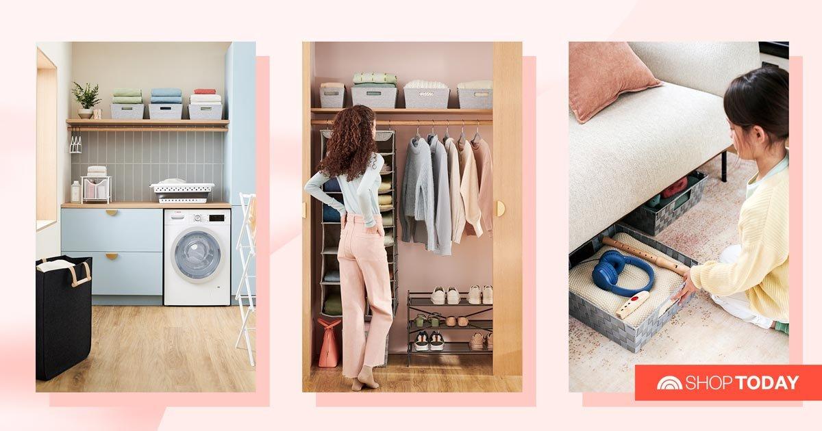Storage just got smarter with Bed Bath & Beyond's newest line — essentials start at $8