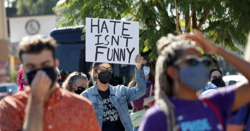 Hundreds rally outside Netflix to protest Dave Chappelle's special