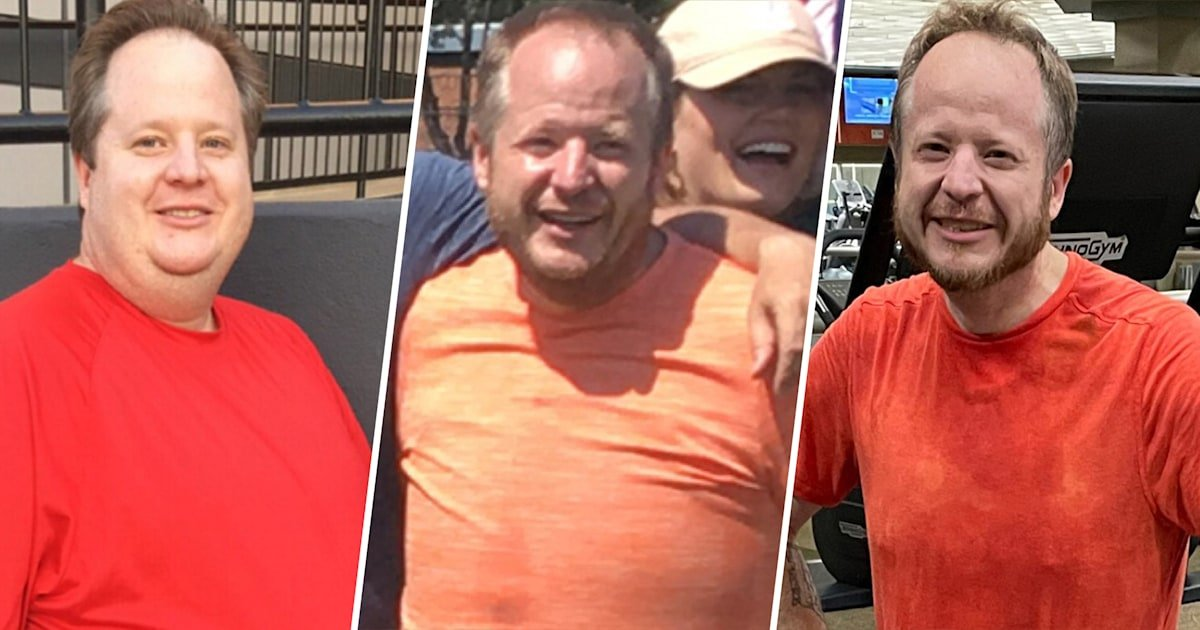 3 simple tips that helped this man lose 185 pounds in 4 years