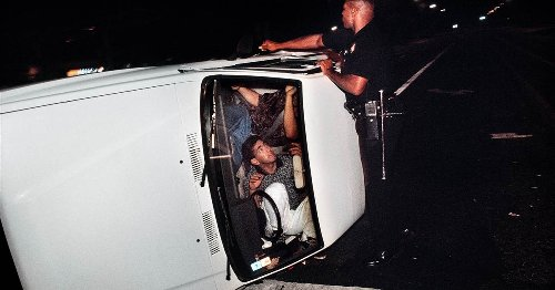 The LAPD tried to change its image after Rodney King. Here's what a photographer saw.