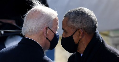 At 100 days, Americans see Biden as more moderate than Obama