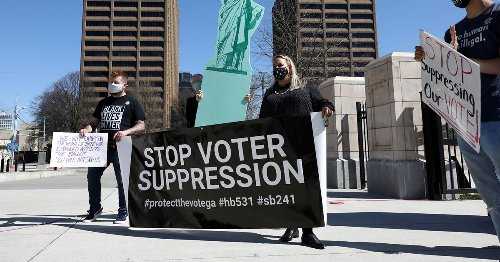 Hundreds of CEOs, celebrities, corporations join forces to oppose 'discriminatory' voting legislation