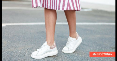 From slip-ons to lace-ups, 14 white sneakers to wear this season