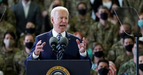 Biden arrives in U.K. to press a message: 'The United States is back'