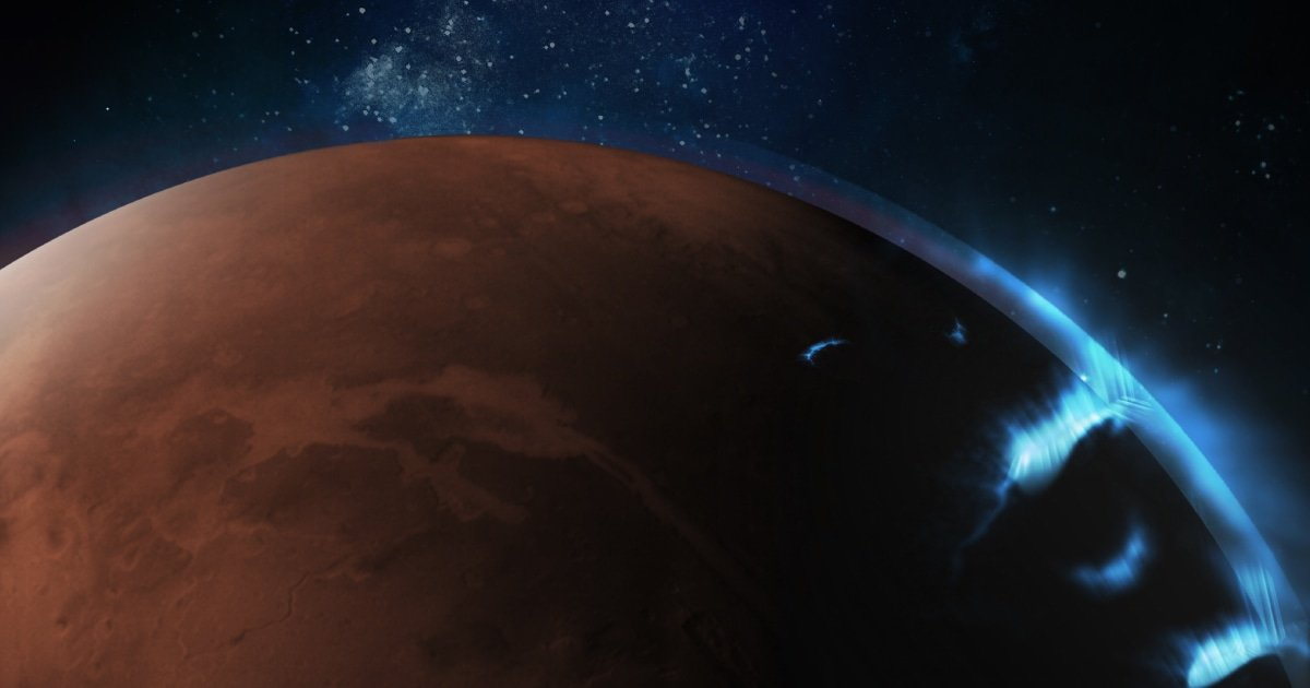 In an ultraviolet glow, auroras on Mars spotted by UAE orbiter