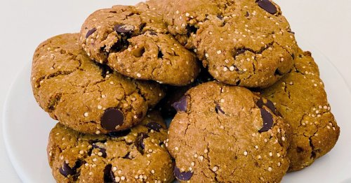 Giada adds pleasant crunch to cookies with toasted quinoa