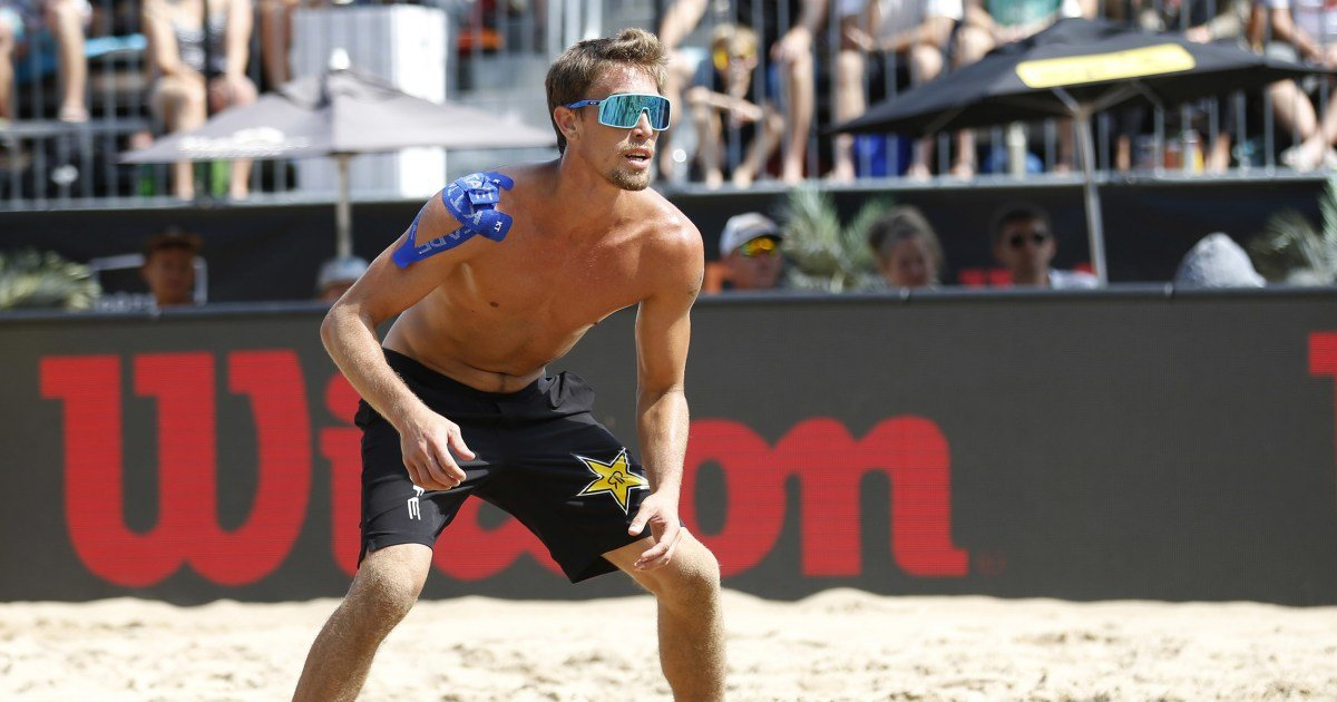 American volleyball player Taylor Crabb tests positive for Covid at Tokyo Olympics