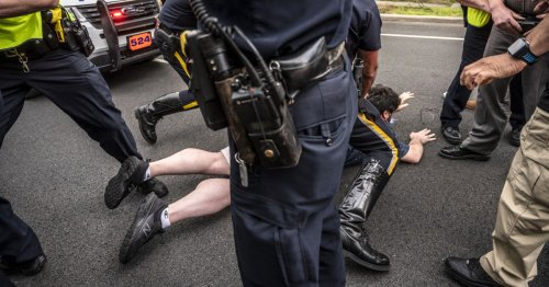 New York county lawmakers pass contentious bill allowing police to sue protesters for harassment