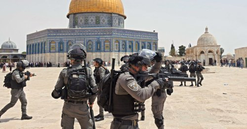 Palestinians clash with Israeli police in Jerusalem after Gaza cease-fire takes hold