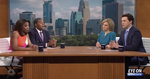 'Saturday Night Live' debates the Derek Chauvin trial