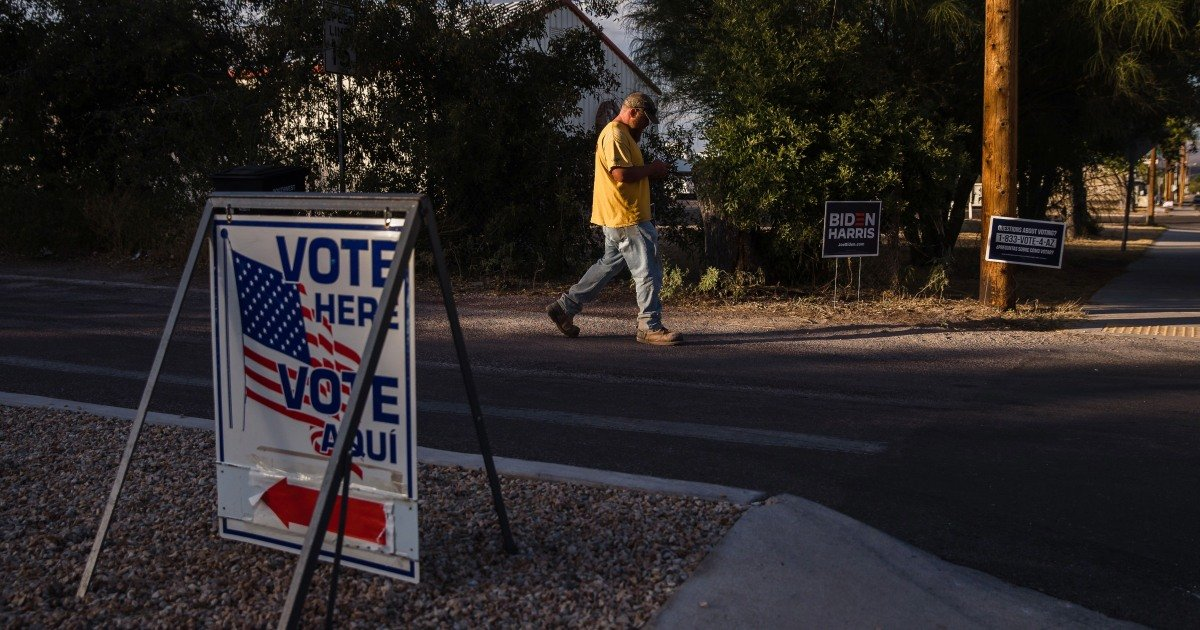 Arizona Gov. Ducey signs new law that will purge infrequent mail voters from state's ballot list