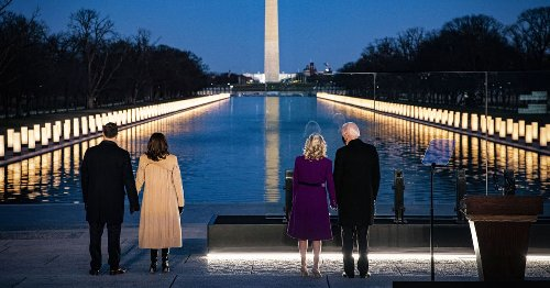 'Grief must be witnessed': Joe Biden's first 100 days as consoler-in-chief