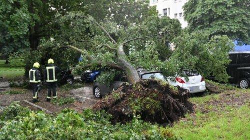 Heftiges Unwetter über Berlin – Feuerwehr im Ausnahmezustand