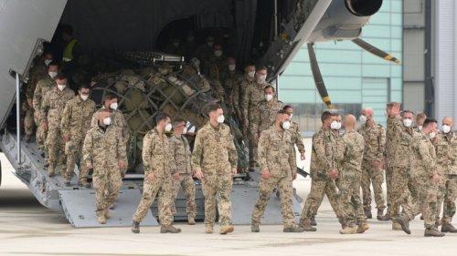 Auch Berlin hat die Soldaten aus Afghanistan nicht begrüßt