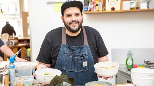 Der erste jüdische Ramen-Pop-Up hat in Mitte eröffnet