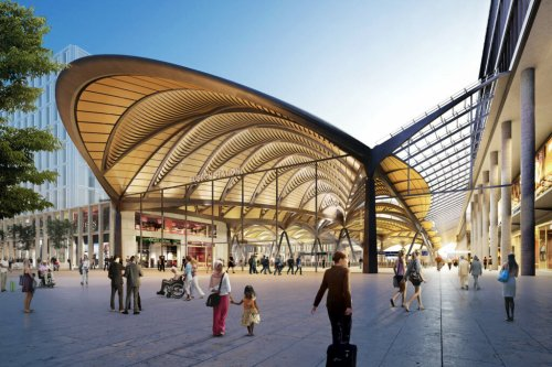HS2 design panel backs scaled-back Euston station plans