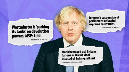 Prime Minister Boris Johnson: two years of Brexit lies, contempt and power grabs — Scottish National Party