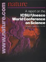 ICSU/Unesco : World Conference on Science : Collections : Supplements : Nature