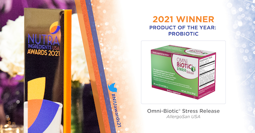 Congratulations to Omni Biotic on Winning NutraIngredient's Probiotic of the Year, 2021