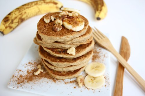 These Healthy Blender Pancakes Will Be Your New Favorite Breakfast