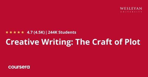 Creative Writing: The Craft of Plot